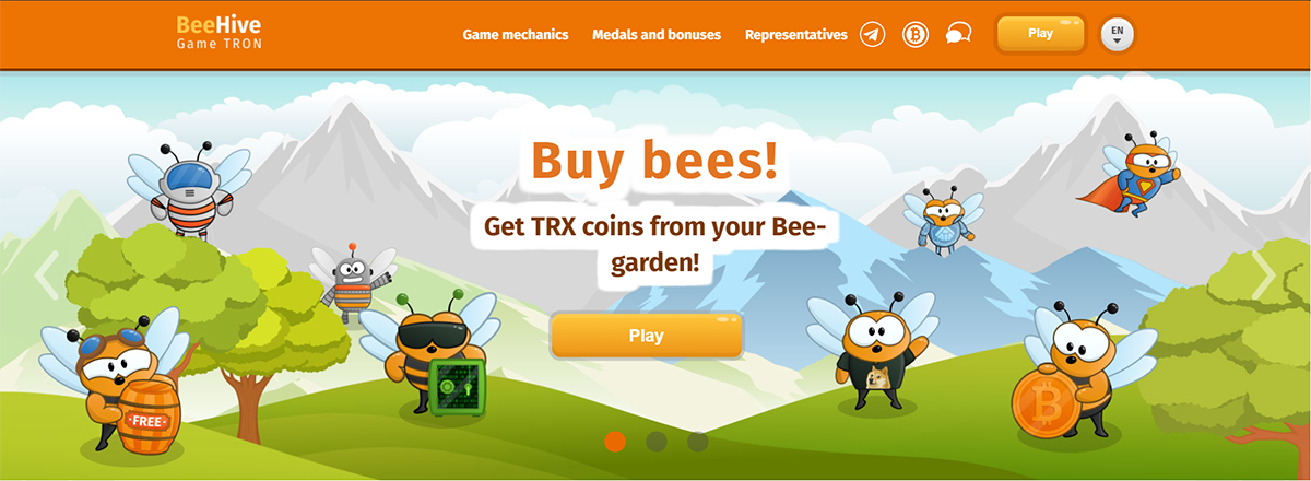 BeeHive | Dapp com Where The Blockchain Comes Alive