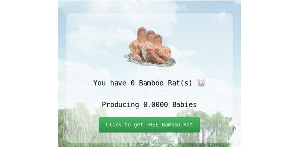 Tron Bamboo Rats Farm | Dapp com Where The Blockchain Comes